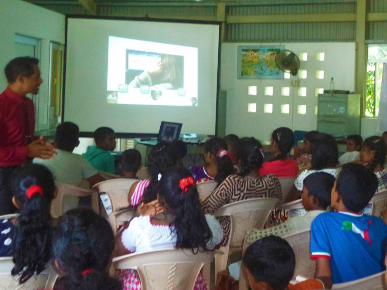 Children learn about sexual exploitation in tourism and travel.