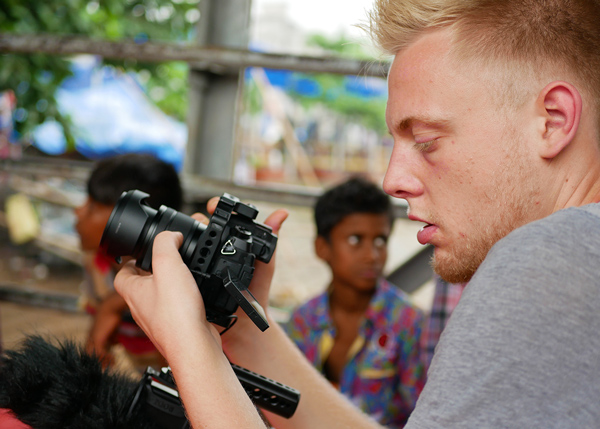 Domenic is a professional volunteer in Sri Lanka working with SERVE